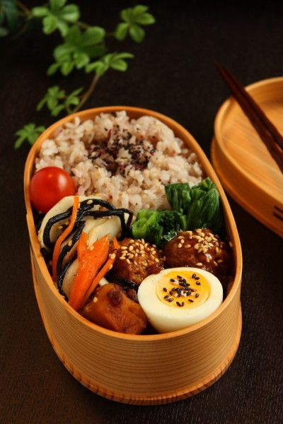 お弁当 : Linmal's Kitchen ~金沢の旬の味と毎日のお弁当, lunch box, simple, Japan