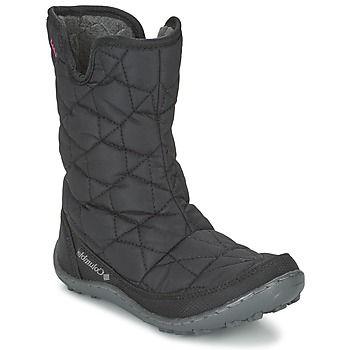 Snow+boots+Columbia+YOUTH+MINX+SLIP+OMNI+HEAT+WATERPROOF+Black+72.00+€
