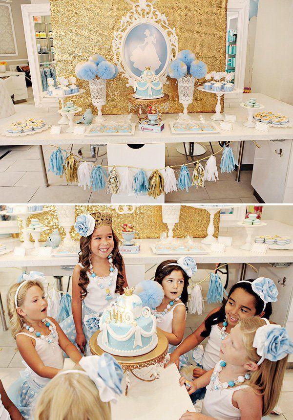Adorable! Cinderella - Bibbity Bobbity Boo Birthday!
