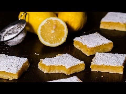 Υπέροχες μπάρες λεμονιού (Video) | Συνταγές - Sintayes.gr
