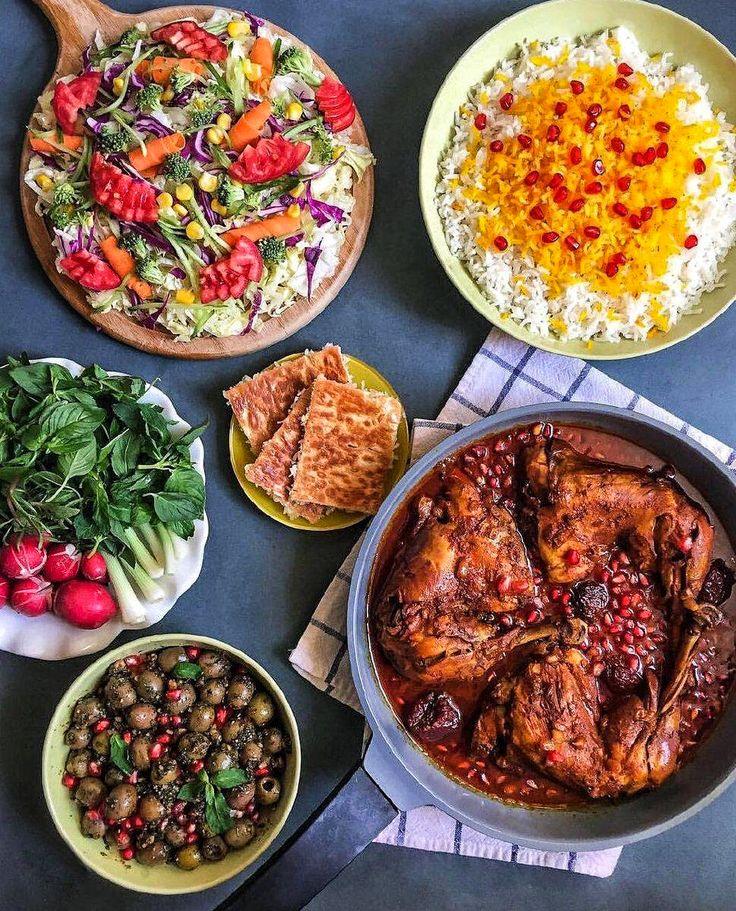Essen Sie mit uns zu einem Mittagessen im iranischen Stil! Würdest du?