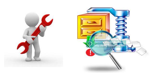 Cara Extract Data dari File ZIP / Rar yang Corrupt