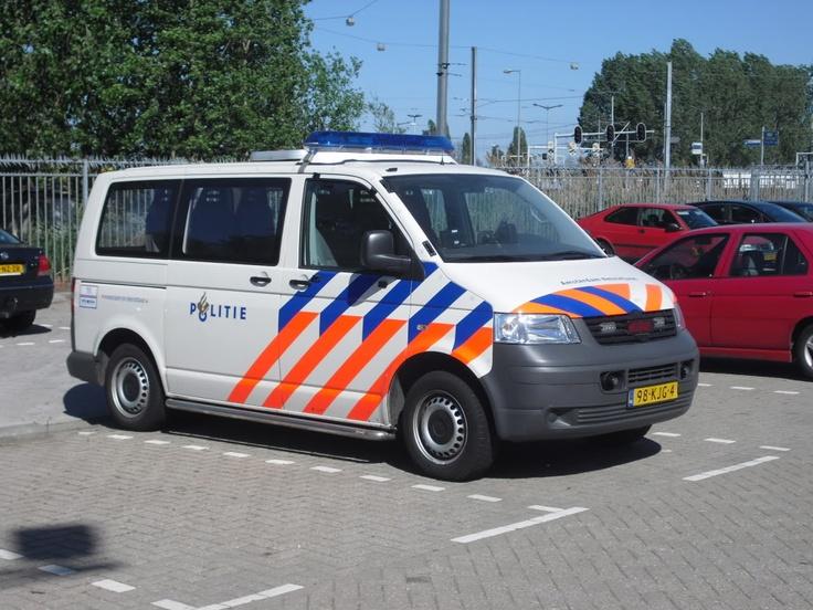 VW transporter in gebruik bij één van de wijkteams.