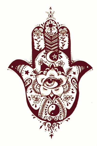 My next tattoo will be the hamsa hand. something like this, just getting inspiration.