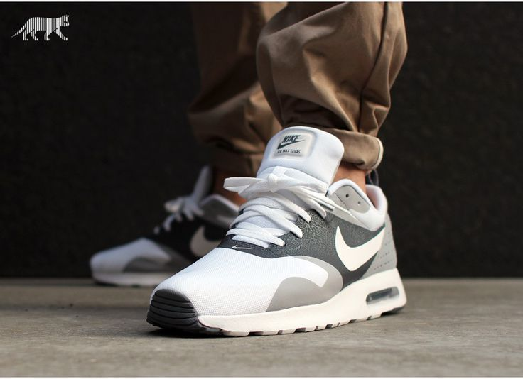 Nike Air Max Tavas (White / White - Cool Grey - Wolf Grey)