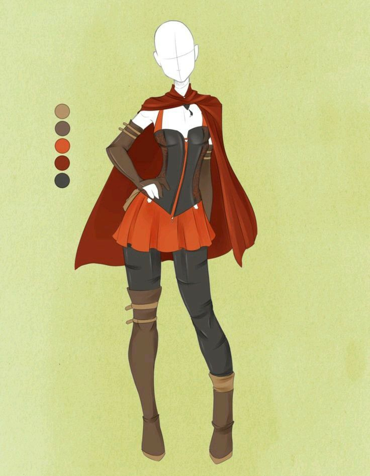 Pin by Starry Knight on ideas | Character outfits, Anime ...