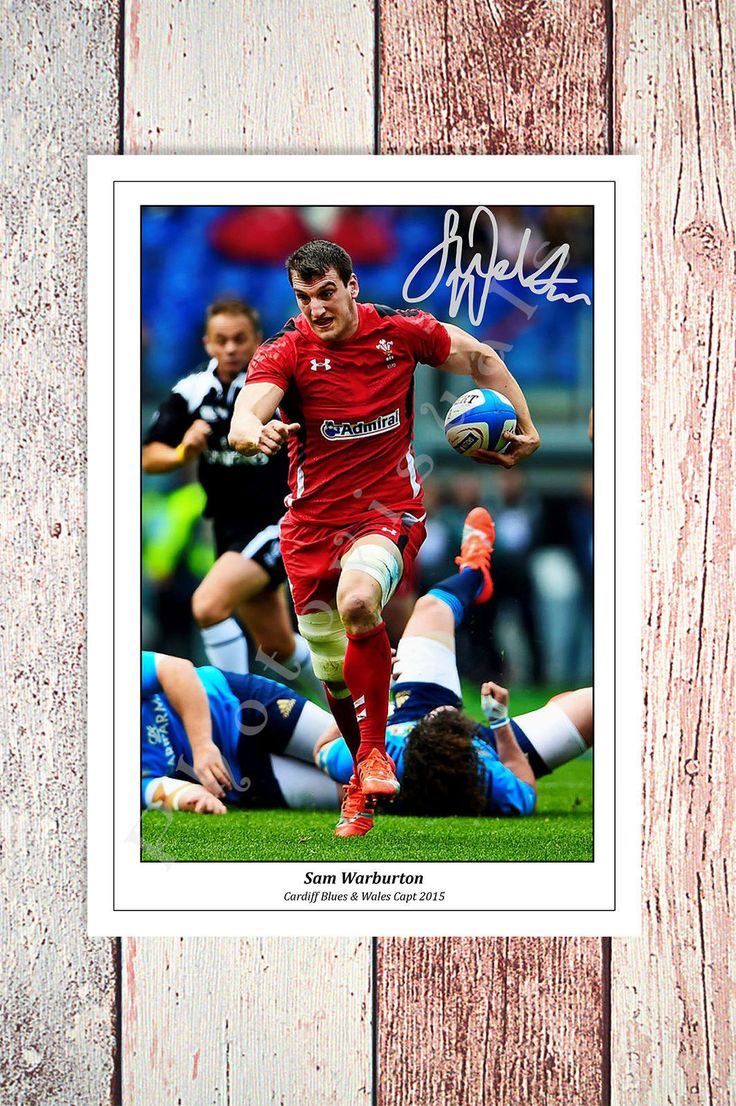 SAM WARBURTON WALES RUGBY SIX NATIONS 2016 SIGNED PHOTO | eBay