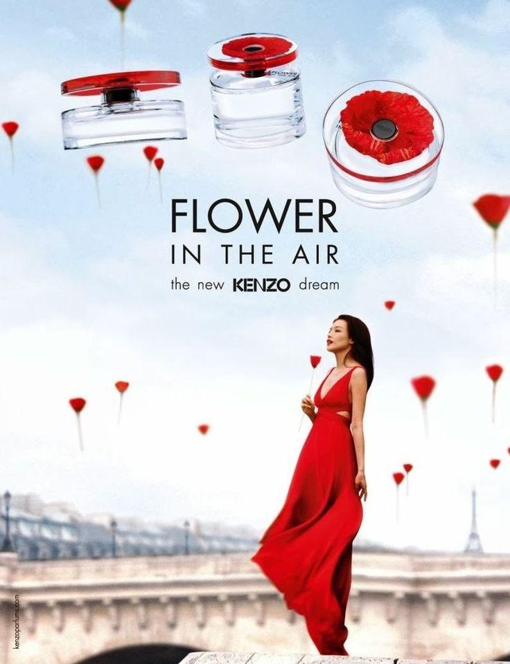 Kenzo flower in the air women edp perfume sample by kenzo