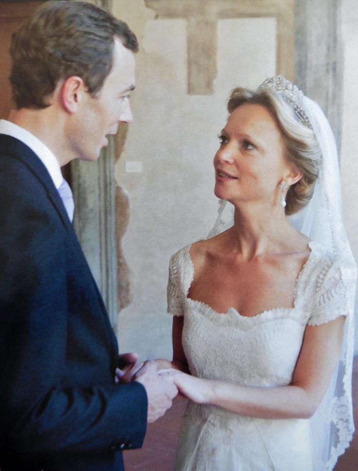 Carolina huwelijk in Italië