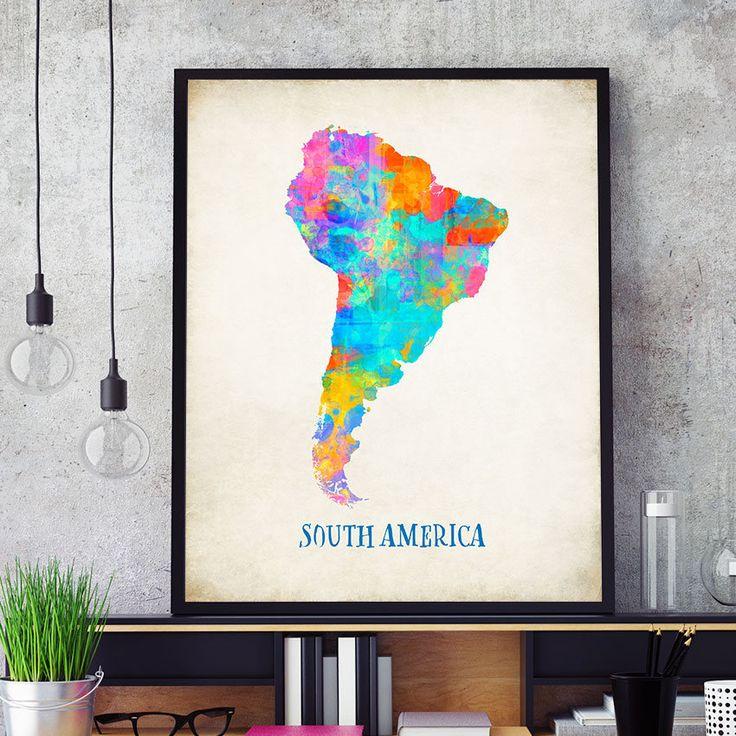 Best 20+ South America Map Ideas On Pinterest
