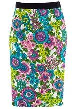 Mila Vintage Floral Skirt