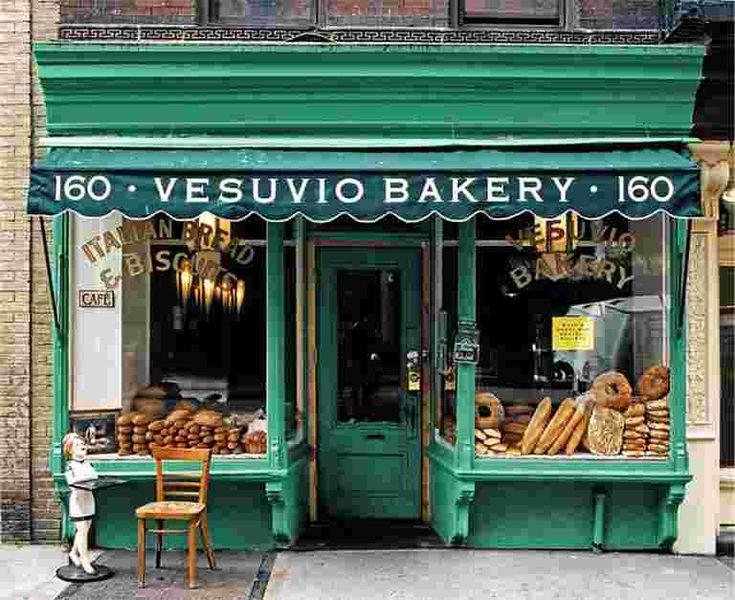26 vintage bakery shop store fronts window displays
