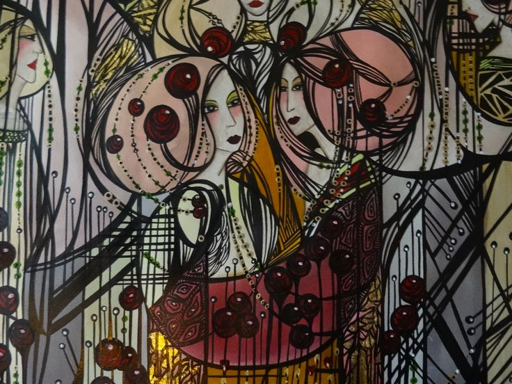 "For more ""behind the scenes"", follow me at Instagram https://www.instagram.com/leylasalm/  Or ""like"" my page at www.facebook.com/leylasalmdesign  #artist, #art, #adfabrum, #artnouveau, #artdeco #etsyshop #etsy #design #designer #antique #antiques #vintage  #custom #follow #dutch #leylasalm #roaringtwenties #1930s #1920s #ceramics #appliedart #handpainted #beautiful #special #artistsmuseum #femaleartist #spiritual #love #leylasalmart"