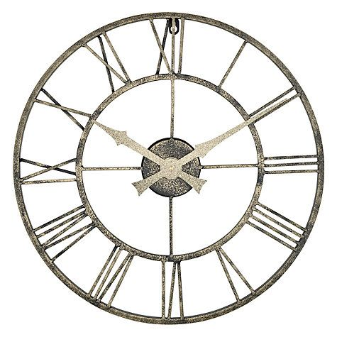 Lascelles Outdoor Clock, Dia.50cm. Big Wall ClocksGarden ...