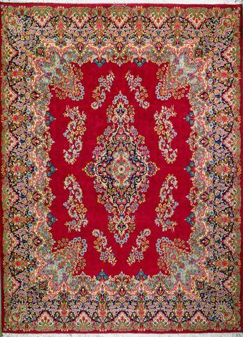 Kerman Persian Rug 9 8 X 13 11 Authentic