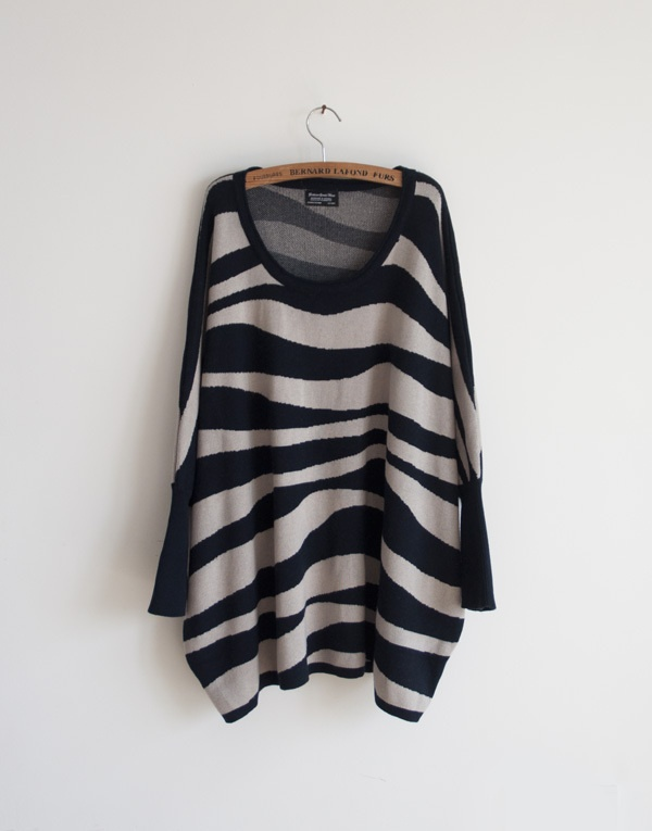 $21 Zebra Sweater