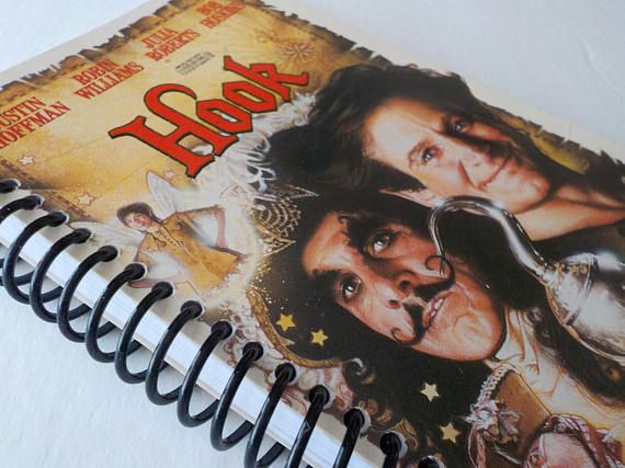 VHS Notebook 4.00 X 7.50 90 pages Hook Movie Star Journal