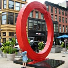 Free Summer Culture: 8 New Public Art Installations NYC Kids Will Love