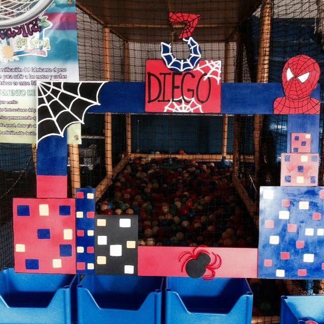 Marcos para fiesta de spiderman marcos de unicel - Ideas para marcos de fotos ...