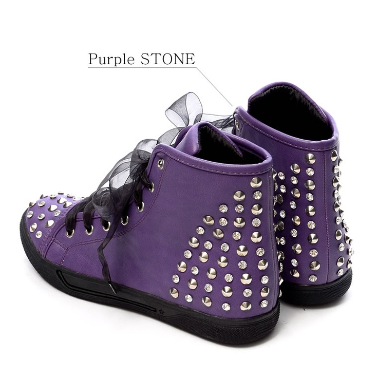 Studded Sneakers!!