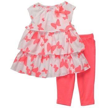 Vestidos de bebès y leggins 3