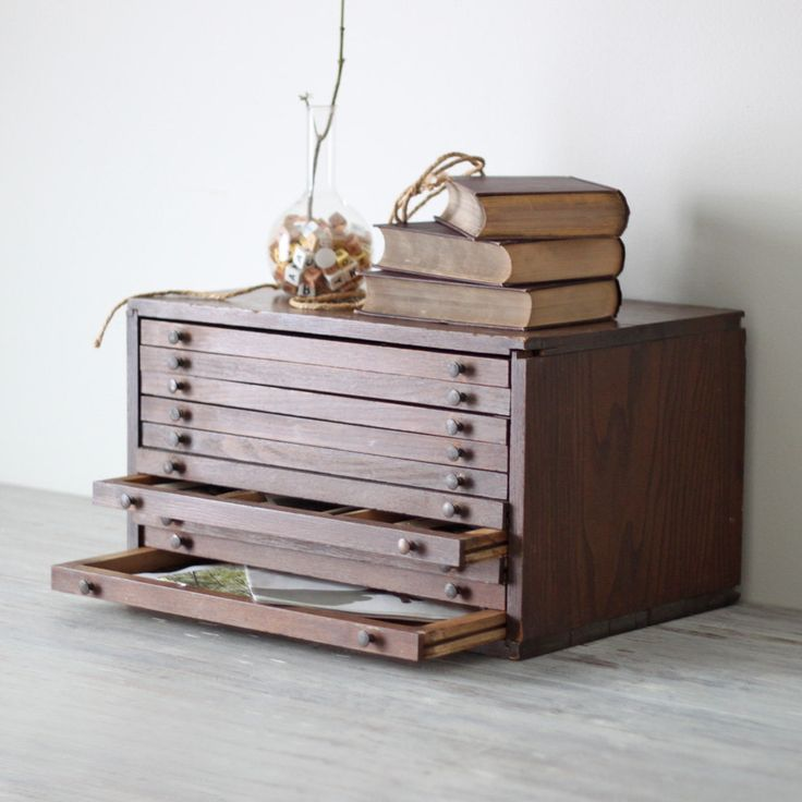 flat file drawer cabinet - me want!                                                                                                                                                                                 More