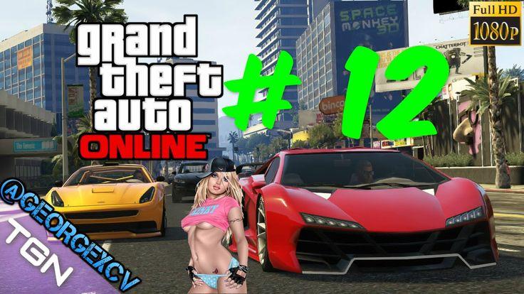 GTA 5 PC Online La Fuga de la Prision # 12 con @djjavitohd 1080p 2.0 @ge...