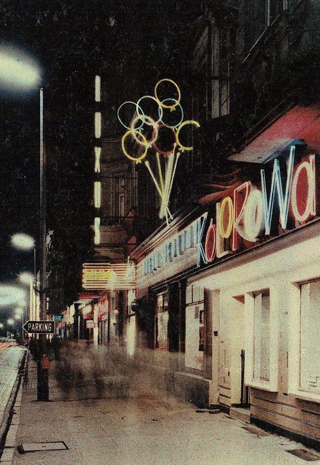 Głogowska ul.-street, Poznan,Poland,1969
