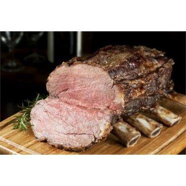 USDA Choice Beef Rib Eye Roast - Bone In