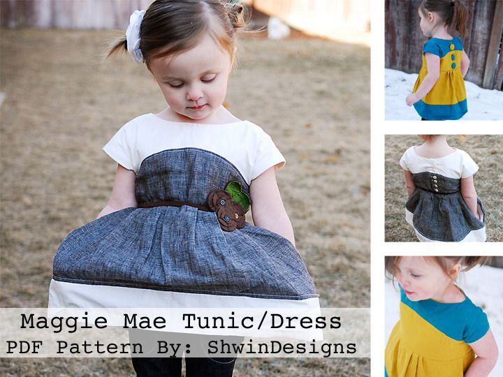Maggie Mae Tunic/Dress - maybe use this pattern but use the upcycled mens dress shirt?