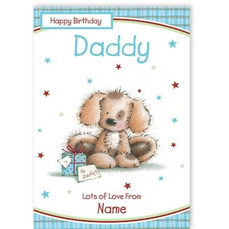 Personalise a greeting card for your dad's birthday just by uploading a photo of your choice at www.quickclickcards.com