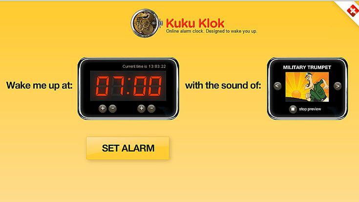 Wake Up to These 5 Free Online Alarm Clocks: Kuku Klok