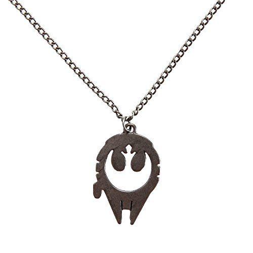 Star Wars Millennium Falcon Rebel Alliance Fashion Pendant Necklace Star Wars http://www.amazon.com/dp/B016YZFRLQ/ref=cm_sw_r_pi_dp_Xyufxb1T1X4CX
