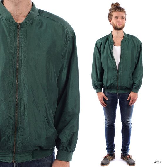 1000  ideas about Men&39s Bomber Jackets on Pinterest | Silk bomber