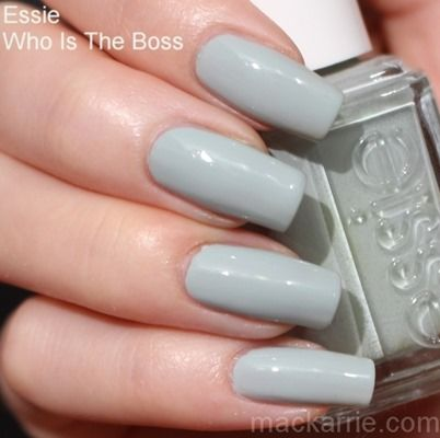 Essie Who Is The Boss // MacKarrie