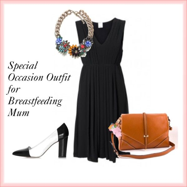 """""""Special Occasion Outfit for Breastfeeding Mum"""" by moremums on Polyvore"""