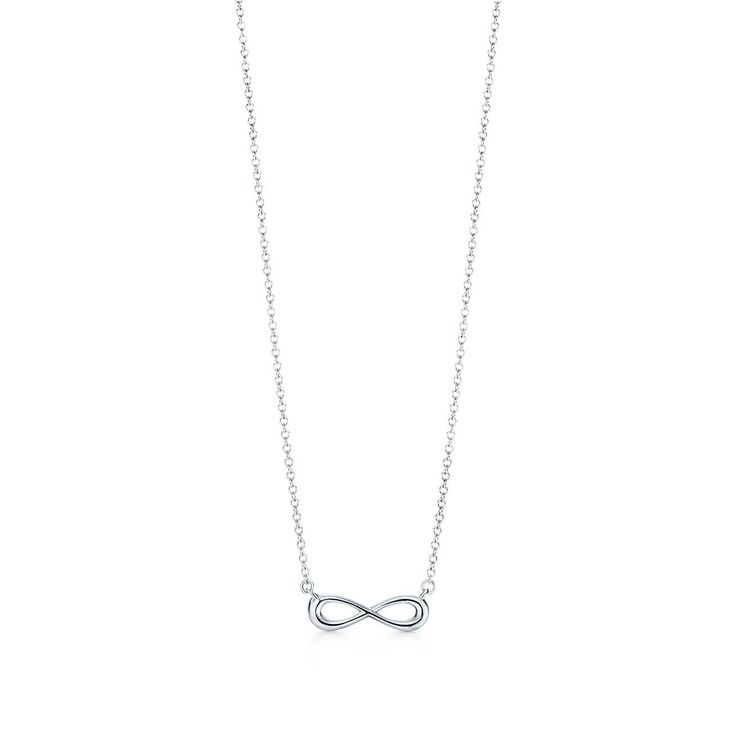 Tiffany Infinity pendant in sterling silver, mini.