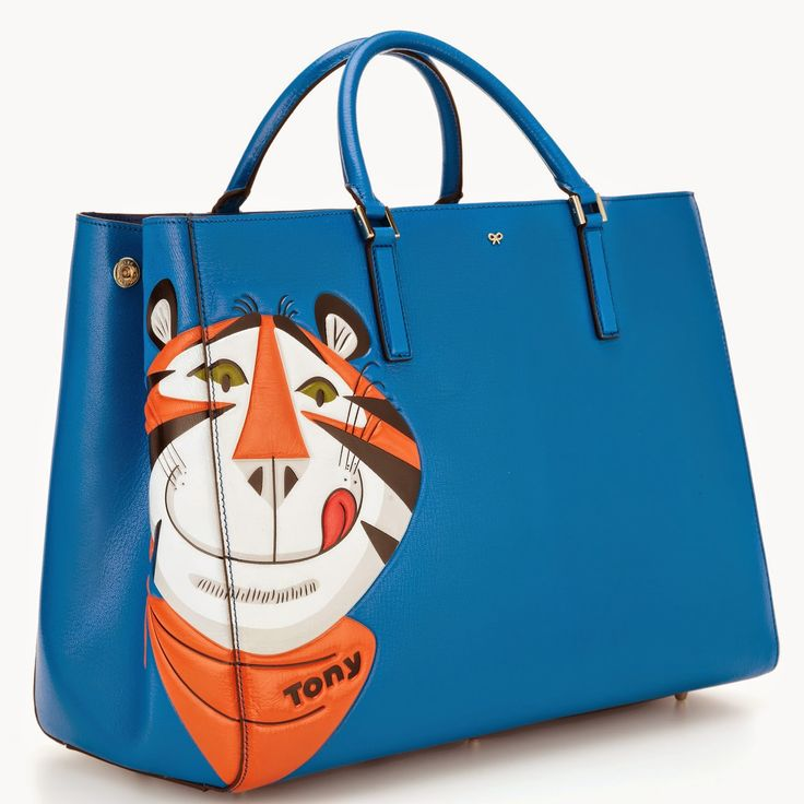 Ebury Maxi Frosties Leather Tote, £1350, Anya Hindmarch