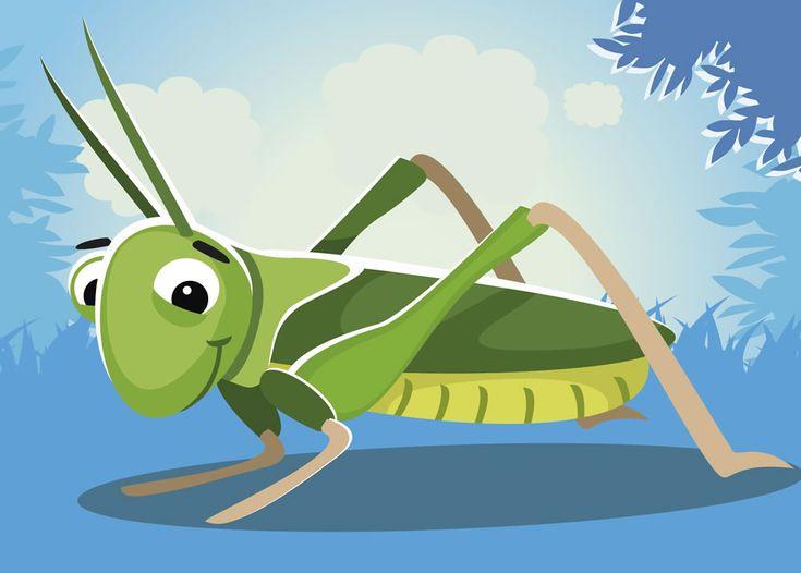 Cuento con valores | Los muelles del saltamontes : ¿Sabéis, amiguitos? Los saltamontes, a pesar de ser insectos y no animales, respiran, sienten y sufren como cualquier otro ser vivo de la tierra.