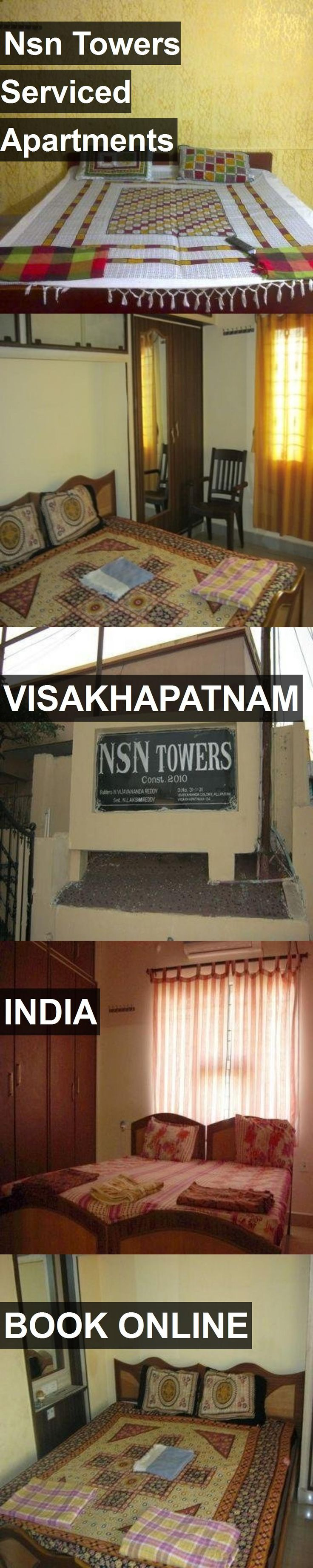 Nsn Towers Serviced Apartments in Visakhapatnam, India. For more information, photos, reviews and best prices please follow the link. #India #Visakhapatnam #travel #vacation #apartment