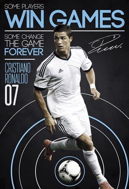 Cristiano Ronaldo - Verdens bedste fodboldspiller 2013 - Nu som flot fototapet og prisen er kun kr. 499,00. Fotostaten kommer i 2 dele B. 158 cm x H. 232 cm