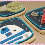 How To Make Yoda & R2D2 Star Wars Cookies