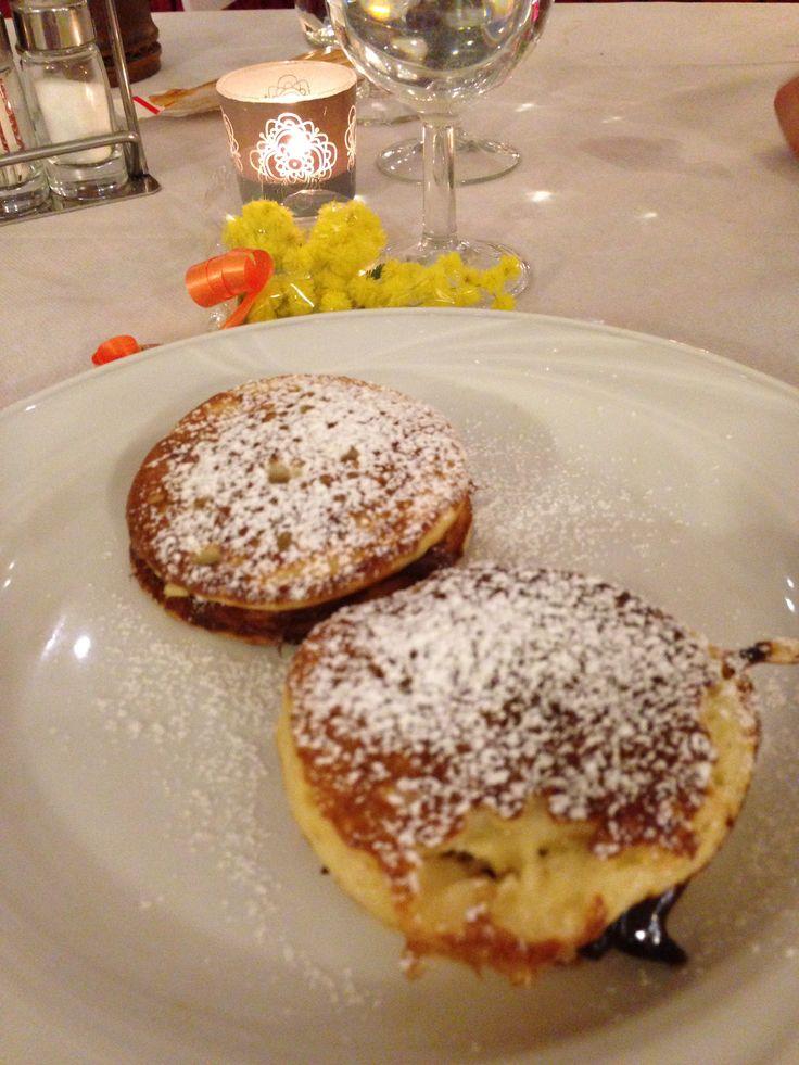 #livanze : piatto ereditato dalla cucina ceca. Presso hotel Maggiorina #Bezzecca #VallediLedro #trentinogusto #ledrofood @Valeria Cervantes Spagnolli