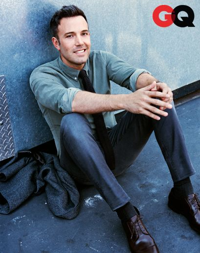 how have i forgotten how much i love him?!?! Ben Affleck - GQ Men of the Year 2012
