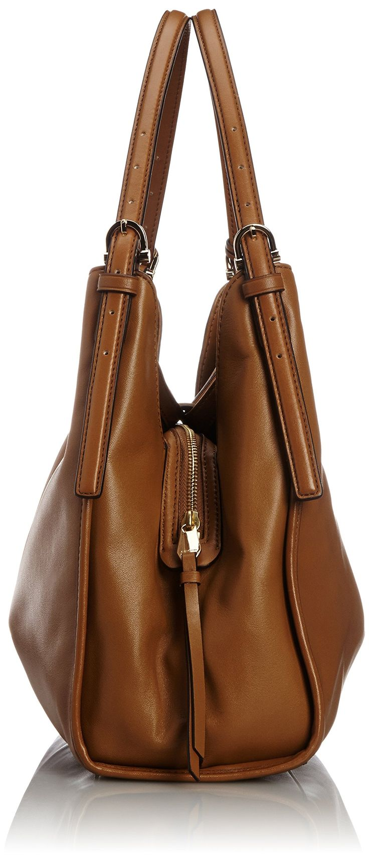 COACH 32221 Madison Carlyle Leather Shoulder Bag in Brindle Brown Gold: Handbags: Amazon.com