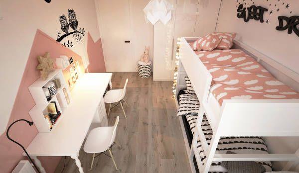 こちらから家のアイデアやデザインを見つけ出しましょう。ELEMENTY - Pracownia Architektury Wnętrzが手掛けたPokoje dziecięce   homify
