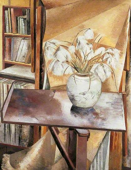 PAUL NASH Still Life with Bog Cotton (1927)