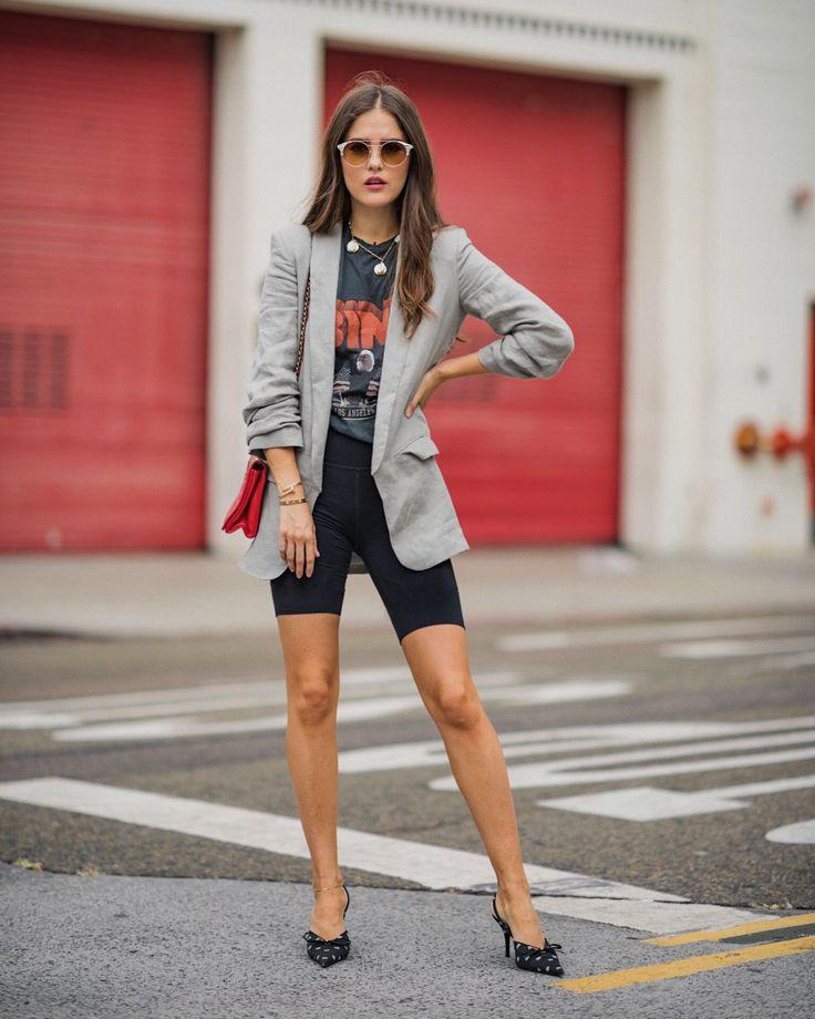 Radlerhosen Outfit