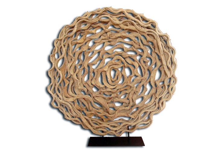 Twisted Vine Circle On Stand