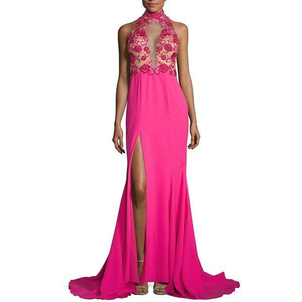 Cowl back dress polyvore fashion